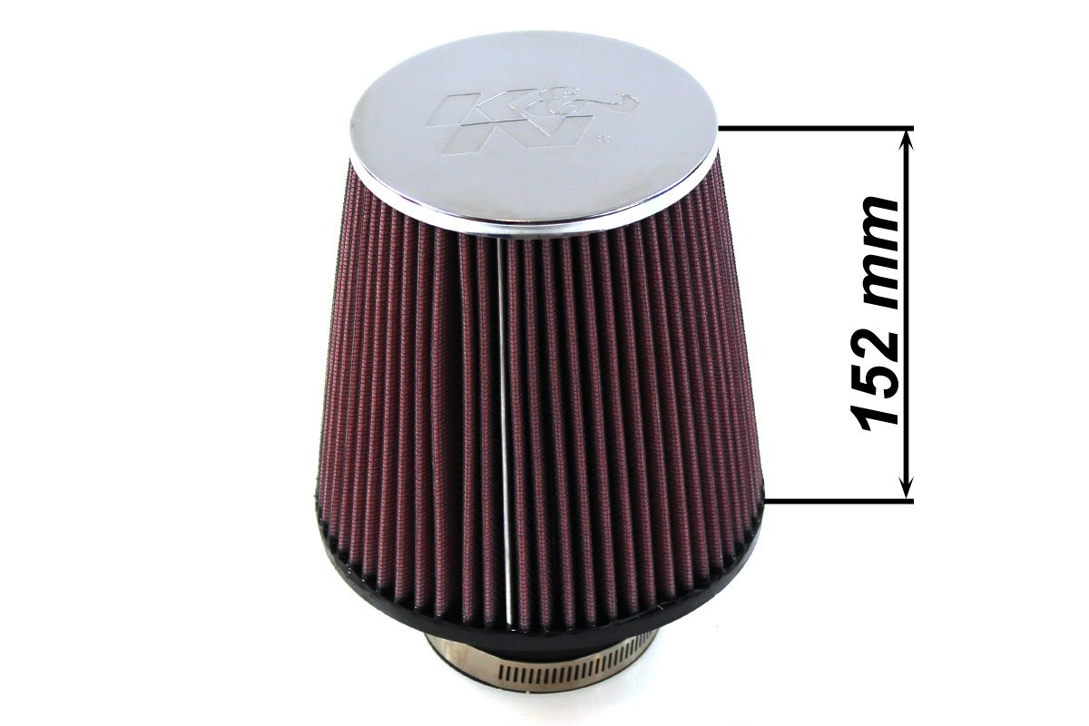 Filtr stożkowy K&N RC-4180 60-77mm